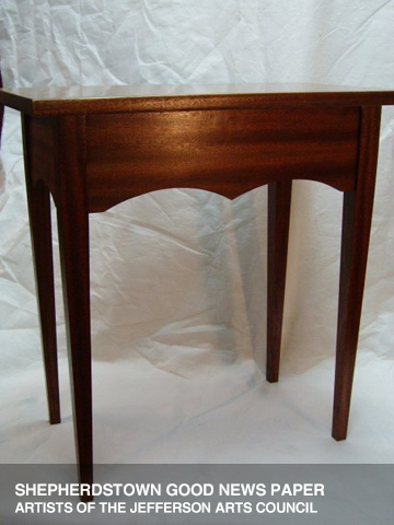 Sapele Side Table