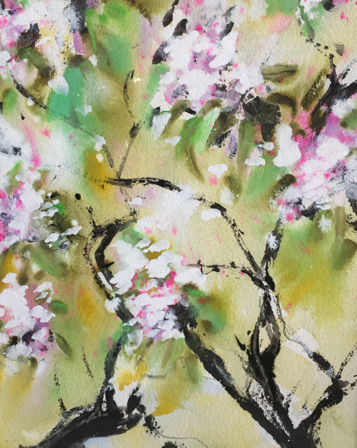 Blossoms, by Joan Keith