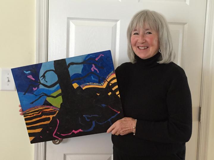 Ellen Burgoyne, Untitled Abstract