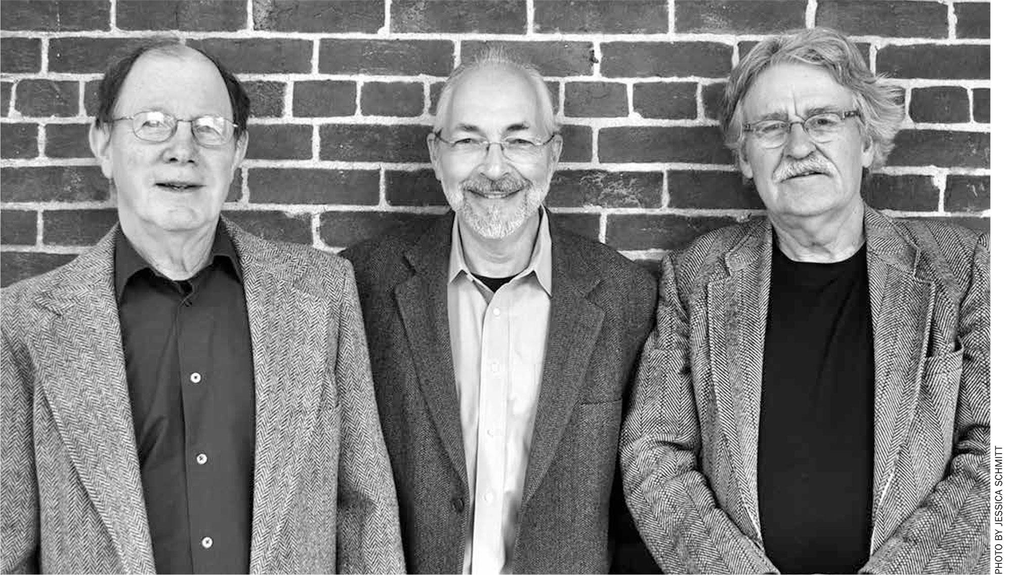 Ed Zahniser, Steve Altman, Randy Tremba